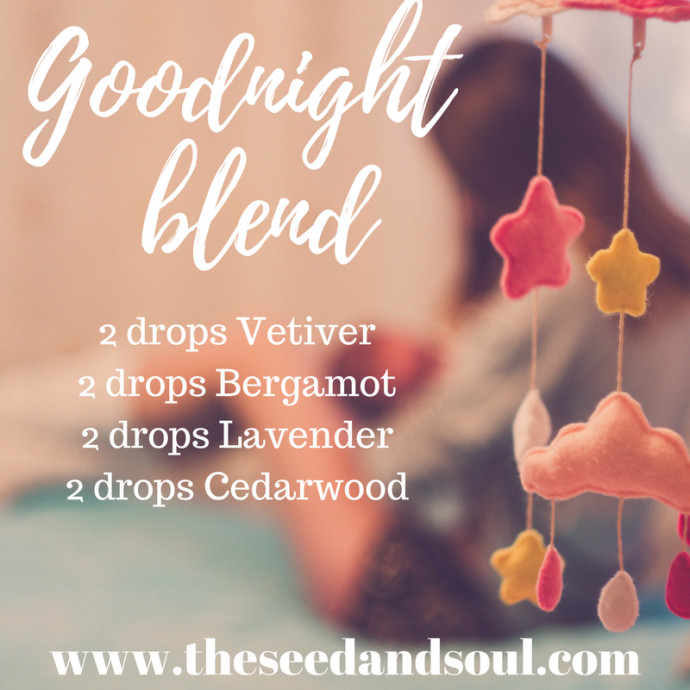 diffuser blend for sleep